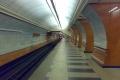 Станция метро Парк Победы - посадочная платформа красного зала