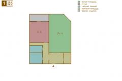 1-комнатная квартира вариант B серии МПСМ