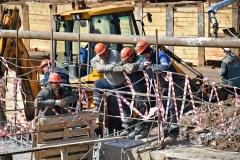 Метро Солнцево - строители