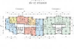 Планировки ЖК Spires - 1 корпус