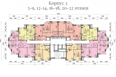 Планировки ЖК Spires - 2 корпус
