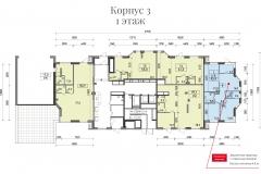 Планировки ЖК Spires - 3 корпус