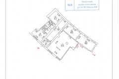 Поэтажный план помещения IIIa, цоколь, Нежинская ул. 13