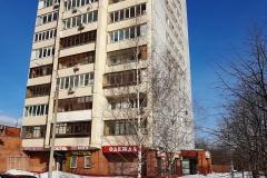 Веерная улица, 20 зимой. Фото 02