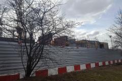 Дом на Аминьевском шоссе - Вид с Матвеевской улицы