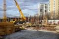 Дом на Аминьевском шоссе - Строительная площадка