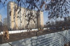 ЖК «Дом на Аминьевском шоссе» Очаково-Матвеевское вид от шоссе