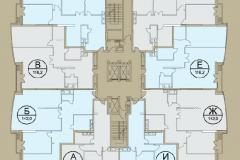 Планировки квартир ЖК Кутузовская ривьера 05