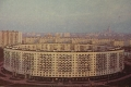 Ретро фото Круглого дома на Нежинской ул. - 1972-1975 года