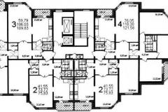 Планировка квартир серия МСПМ 02