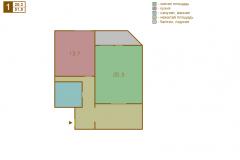 1-комнатная квартира вариант C серии МПСМ