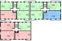 Планировки серия дома 1-515/9м