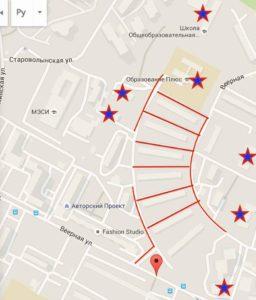 устройство пешеходных дорожек и тротуаров в районе пятиэтажек на Веерной!