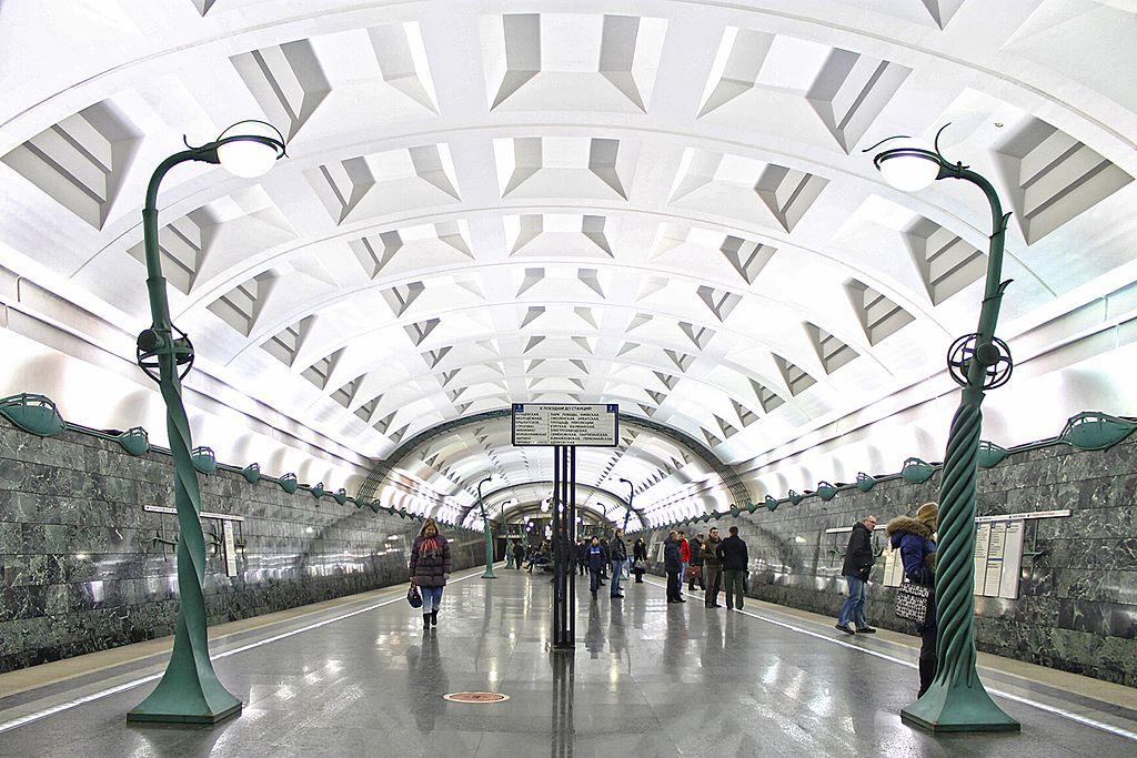 Метро Славянский бульвар - платформа