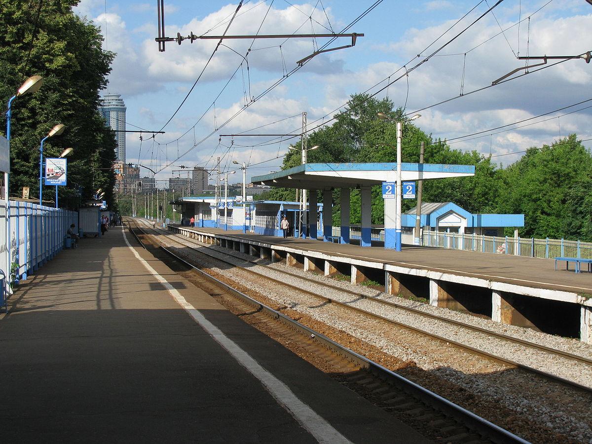 Платформа Матвеевская