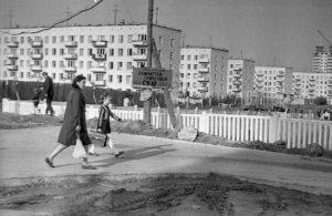 Пятиэтажки на Матвеевской улице - 1974 год
