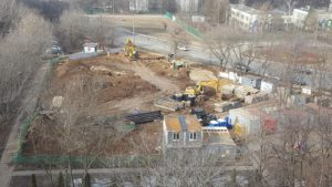 Строительство Делового Центра Нежинская ул. 15