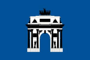 Флаг ЗАО г. Москвы