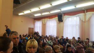 Встреча главы Очаково-Матвеевского района, тема снос пятиэтажек